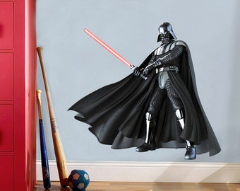 Star Wars Darth Vader Decal Removable WALL STICKER