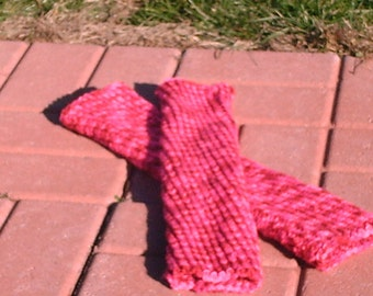 Child's Leg Warmers in Candy Print