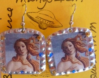 Botecelli's Venus earrings