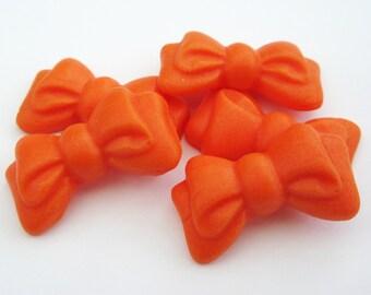 Set of 12 Bows - edible sugar cake decorations
