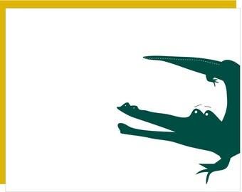 Alligator flat cards