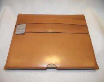 I Pad Case in London Tan Bridle Leather