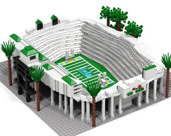 Rose Bowl Stadium, UCLA Bruins Brick Model