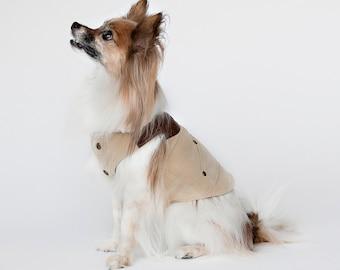 Wesley -Tan Dog Coat