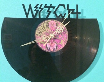 Witch Vinyl Clock