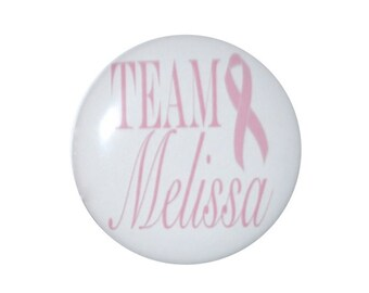 breast cancer awareness breast cancer support pink ribbon awareness 2 1/4 inch button