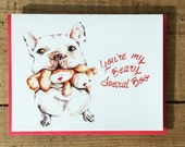 Valentine Card / Valentine's Day Card / Love Card / Romantic Card / Special Occasion / Anniversary Card / You're my Beary Special Boo