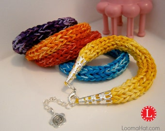 Loom Knit Pattern Friendship Bracelet