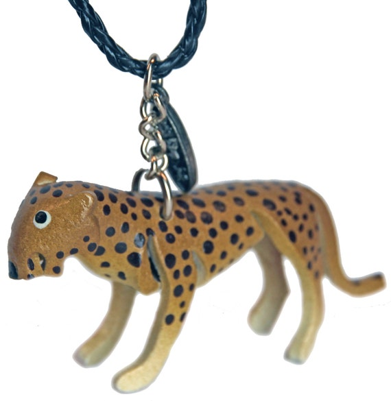 Mini Car Mirror Charm Cheetah Big Cats Wild Cats Car