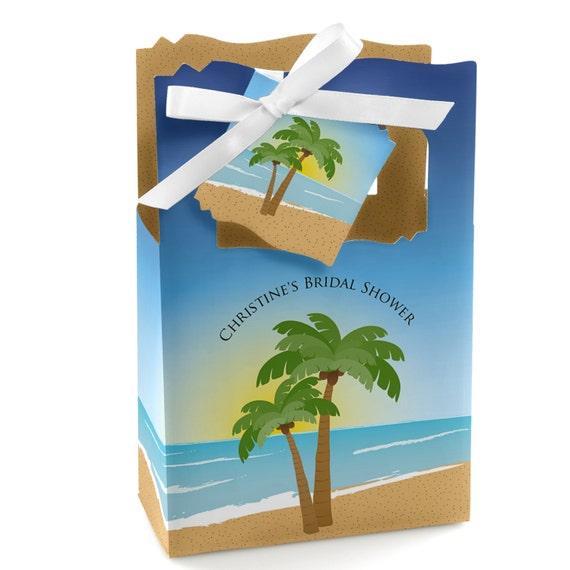 Beach Favor Boxes