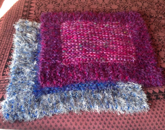 Items similar to Pet Blanket.Knitted Pet Bed. Cat or Small Dog Blanket. on Etsy