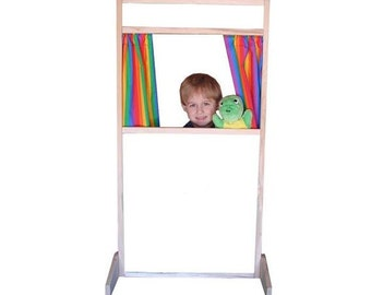 Puppet Theater / Play Store Front - Whiteboard or Chalkboard