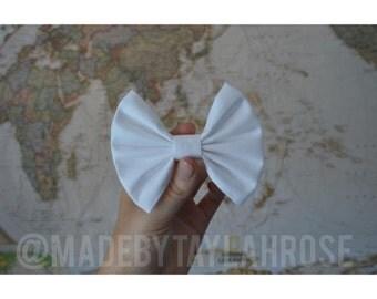 Plain White Bow