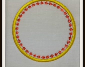Set of 10 Appliques - Fits 4x4 Hoops - Machine Embroidery File Instant Download