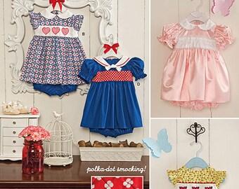 Simplicity Sewing Pattern 1205 Babies' Dress and Panties