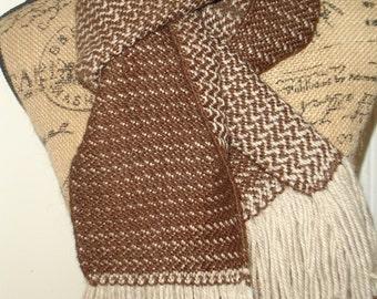men's scarf,  Men's Wool Scarf, Brown Scarf, Men's Scarves Scarves for Sale, Wool Wrap,  Originally 87.00,