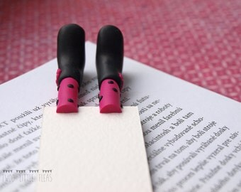 feet bookmark, foot bookmark, shoes bookmark, funny bookmark