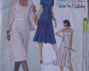 VINTAGE Vogue Pattern 1680 Misses' Half-Size Jacket, Skirt and Top