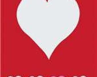 Valentine Handcrafted Applique Garden Flag