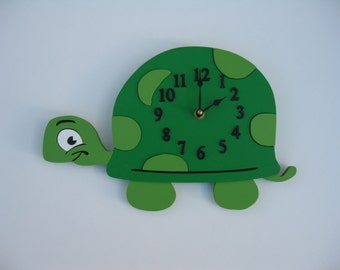 Wall Clock - Little Turtle