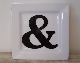 Ampersand Ring Dish