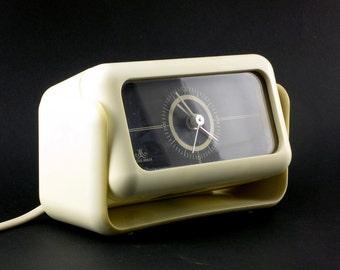 Meister Anker vintage space age clock/ 70s German clock