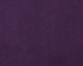 Plum Purple Stretchy Cotton