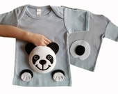 panda shirt, kids clothes, panda clothing, animal shirt, toddler panda, baby panda, panda tshirt, panda bear, panda birthday, baby shower