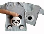 panda shirt, kids clothes, panda clothing, animal shirt, toddler panda, baby panda, panda tshirt, panda bear, panda birthday, baby shower