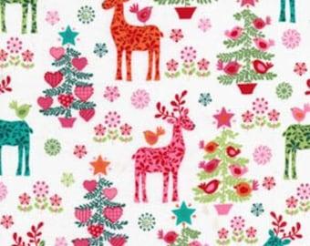Michael Miller Nordic Holiday Christmas cotton 1 Yard listing