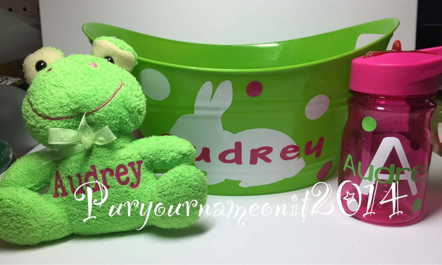 Personalized Easter Basket Gift Set