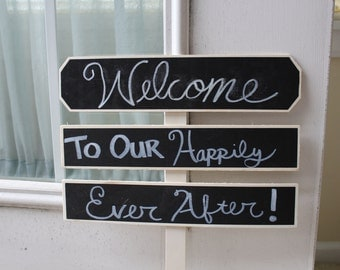 Happily Ever After Ceremony/Reception Decor