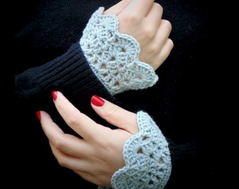 Crochet Wrist Warmers, LC023