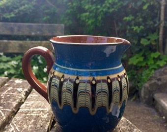 Blue Pottery Jug