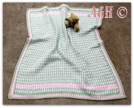 PDF Crochet Pattern for Jamie Baby Blanket Instant by ...