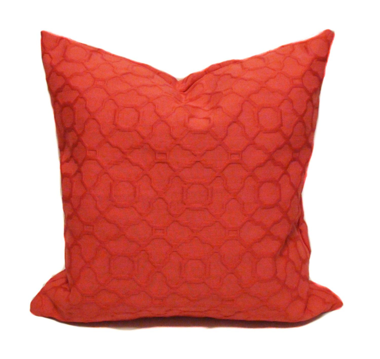 Throw Pillow Orange : Orange throw pillows Pillow cover Sofa pillow by PillowCorner