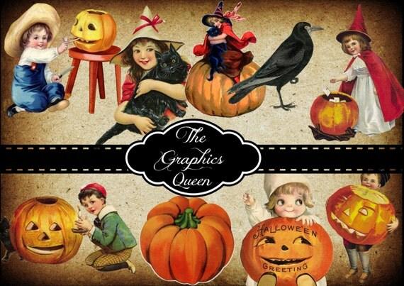 vintage halloween decorations eBay