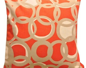 Scion Zsa Zsa Chilli Orange Cushion Cover