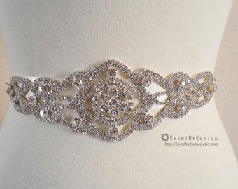 BEST SELLER Wedding Belt, Bridal Belt, Wedding Sash, Bridal Sash, Crystal belt, Crystal sash, Bridesmaid Belt, Swarovski Sash,Swarovski ANNA