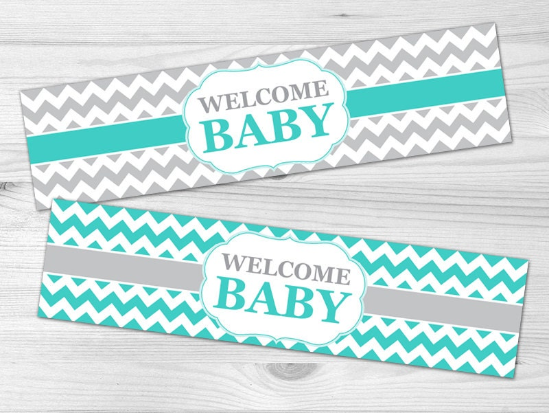 water bottle label diy printable baby shower label baby