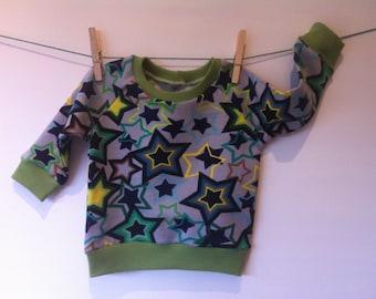 Star sweatshirt by jogging material, mt 84