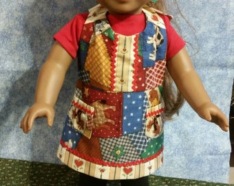 "18"" Doll Apron Outfit"