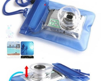a Waterproof Camera Bag for Swimming, snorkeling, Beach Dry Bag Case Cover For Cell Phones Cameras, Dustproof, Waterproof Camera Bag
