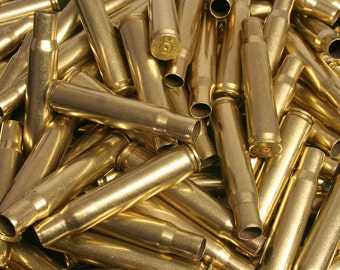 50 Caliber BMG Bullet Casings! Set of 4! Military Brass Empty Spent Rifle Ammo Cartridge Shells