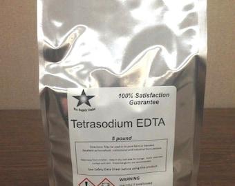 Tetrasodium EDTA 5 Lb. Pack FREE SHIPPING!!