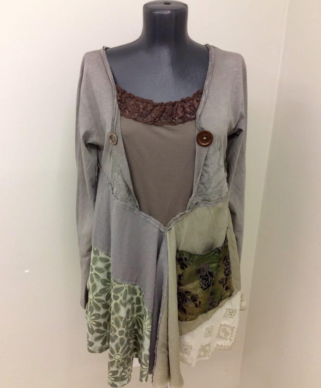 SALE Upcycled Clothing Funky Boho Clothing Upcycled By