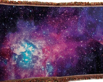 Galaxy Throw Blanket_Dress up any room with our out of this world Galaxy Throw Blanket