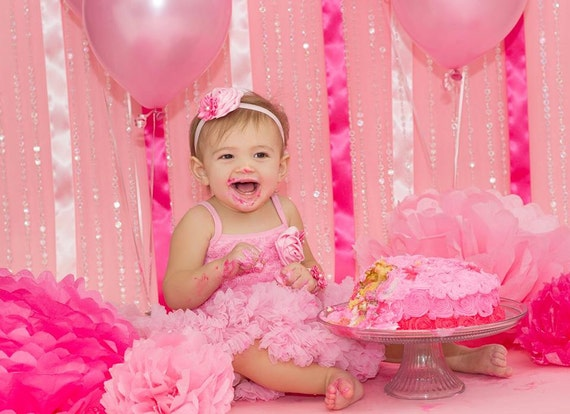 Girls 2nd birthday outfit. 3rd birthday outfit. Pink Tutu dress. Cake ...
