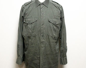 50's vintage Austria army long shirts