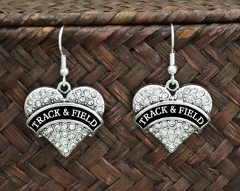 Track and Field Earrings